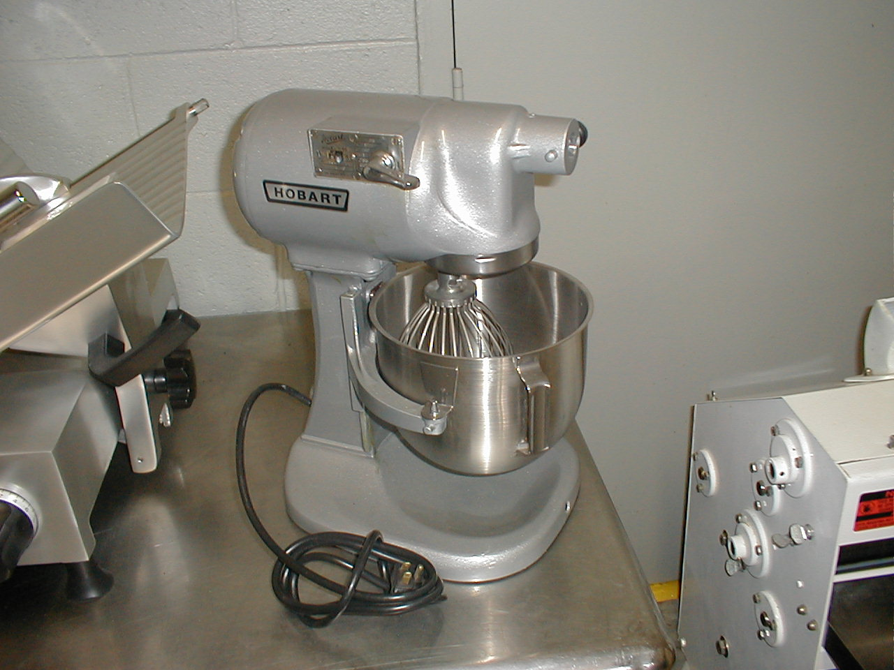 Hobart N-50 Mixer Refurbished Hobart N-50 mixer refurbished to factory condition. Our Refurbished units are guaranteed with a warranty. All of our refurbished Hobart Mixers are in pristine condition.